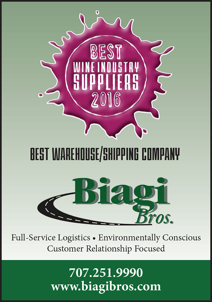 BEST WINE INDUSTRY SUPPLIERS - 2016