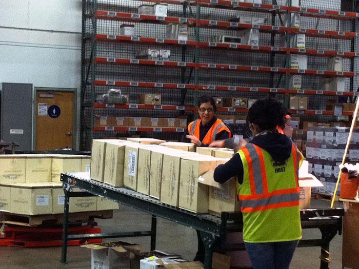 California Repack  U0026 Sort Food Safe Warehouse